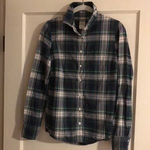 J Crew Boy Shirt Plaid